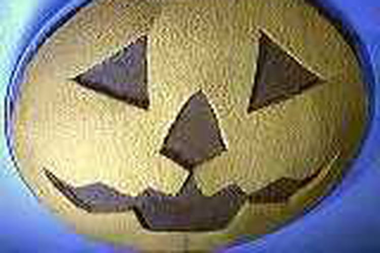 Masque Halloween au chocolat