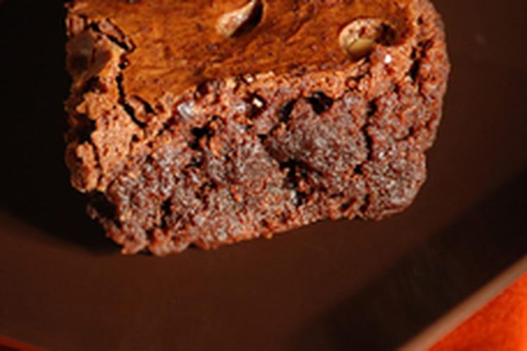 Brownies au Nutella et noisettes