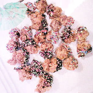 rochers au caramel