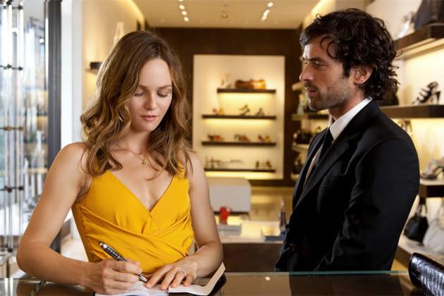Future mariée indécise avec Romain Duris