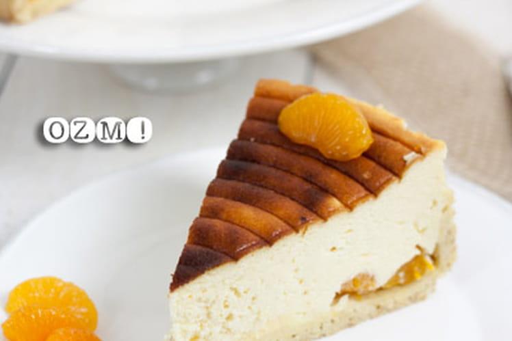 Käsekuchen ou gâteau au fromage blanc
