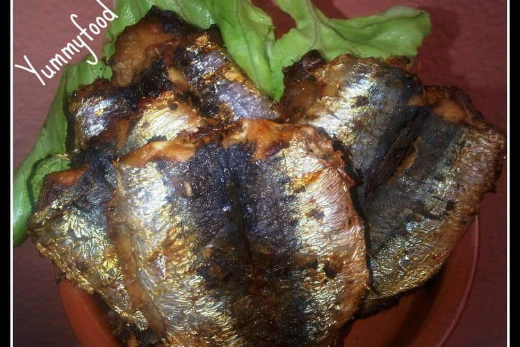 Sardines à la chermoula