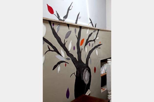 Arbre mural