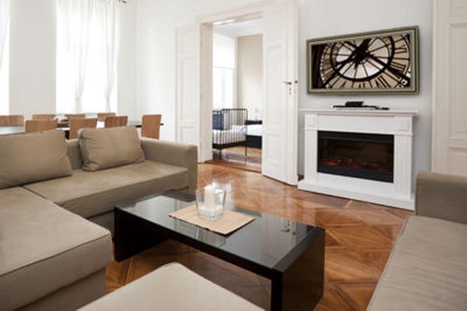 transformer un cran plat en cadre d co. Black Bedroom Furniture Sets. Home Design Ideas