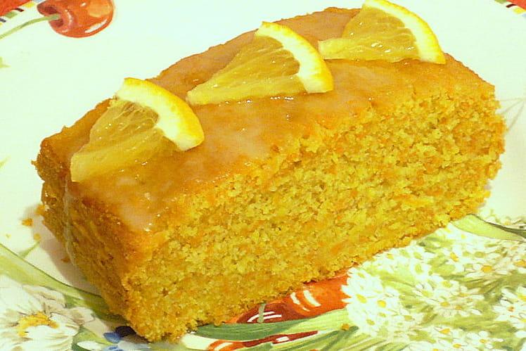 Cake aux carottes et au gingembre