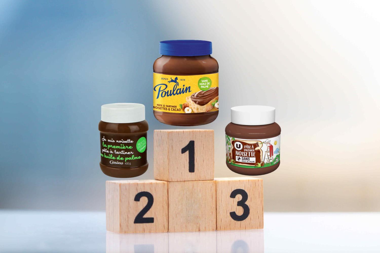 Top 3des meilleures pâtes à tartiner selon 60Millions de consommateurs