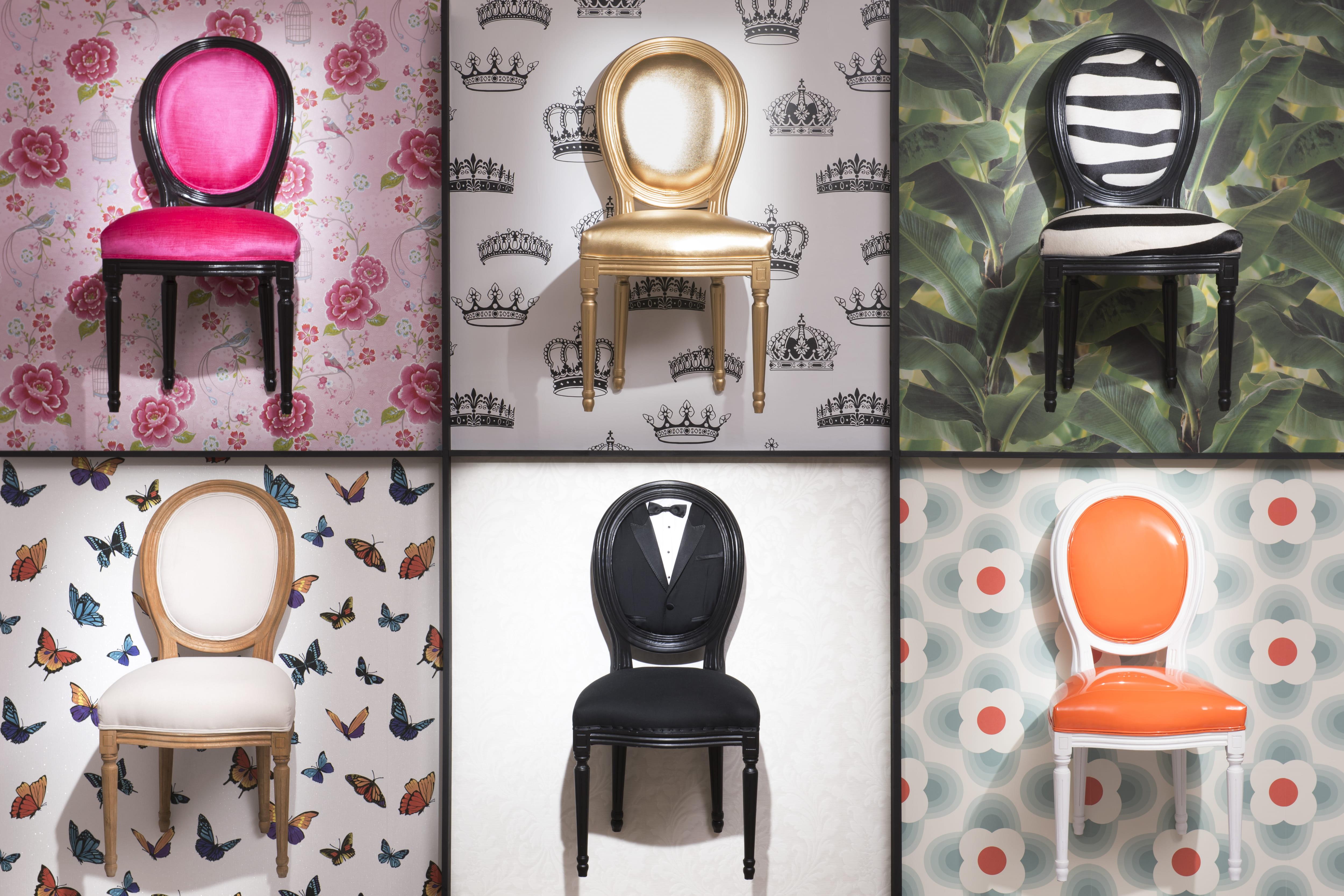 maisons du monde la chaise m daillon se met sur son 31. Black Bedroom Furniture Sets. Home Design Ideas
