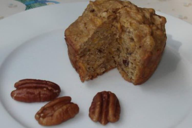 Muffins aux noix de pécan et sirop d'érable