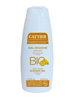 gel douche exfoliant de cattier