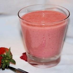 smoothie fraise-citron