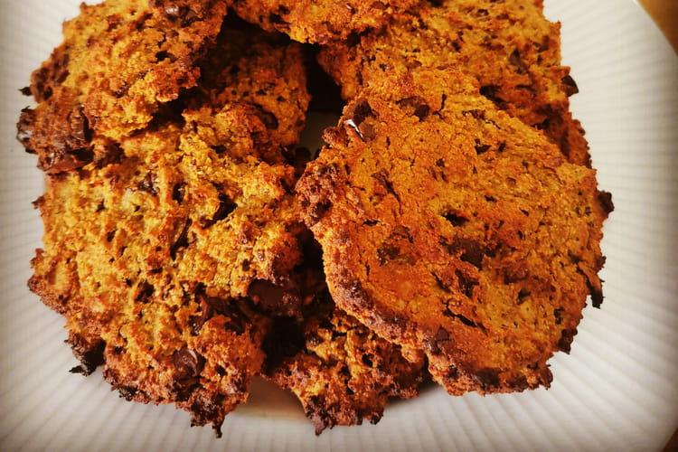 Cookies à la patate douce et aux pépites de chocolat