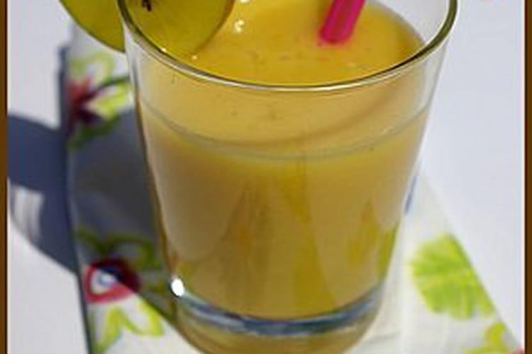 Smoothie passion ananas