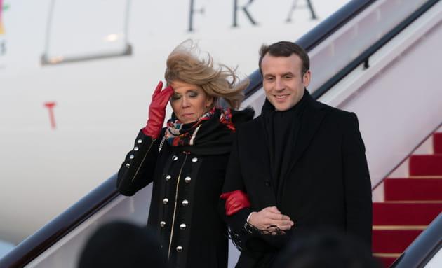 Un couple dans le vent