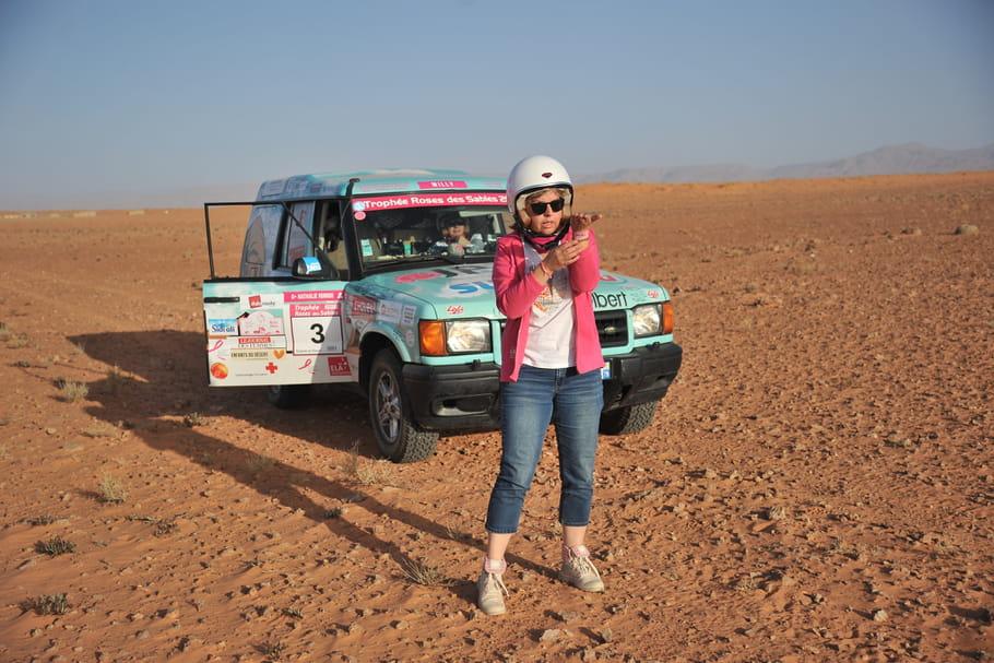 Trophée Roses des Sables: Jour 1dans le désert