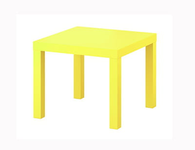 table 'lack' d'ikea