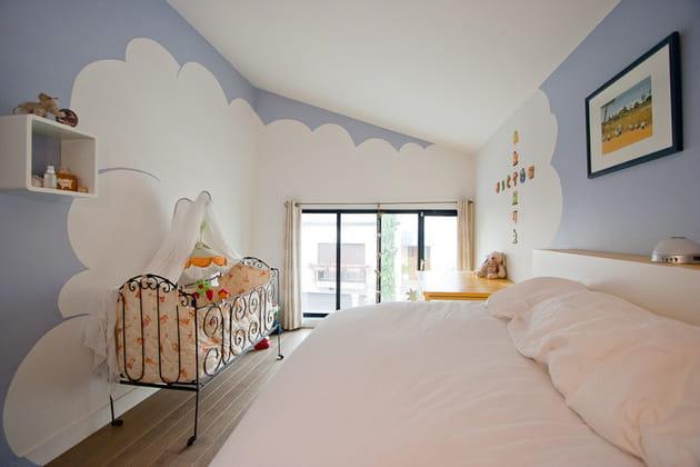 Maison loft : déco nuage