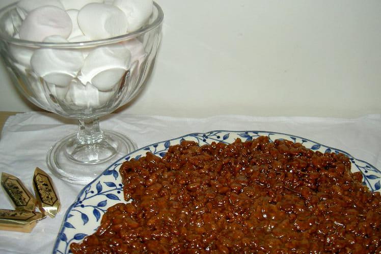 Gourmandise au riz soufflé