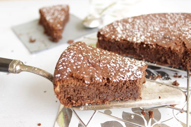 Moelleux au chocolat - sans beurre