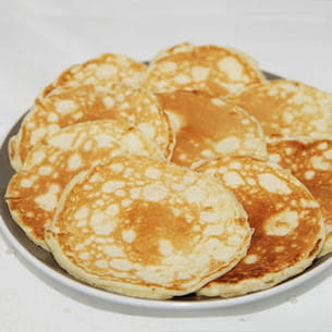 blinis au fromage