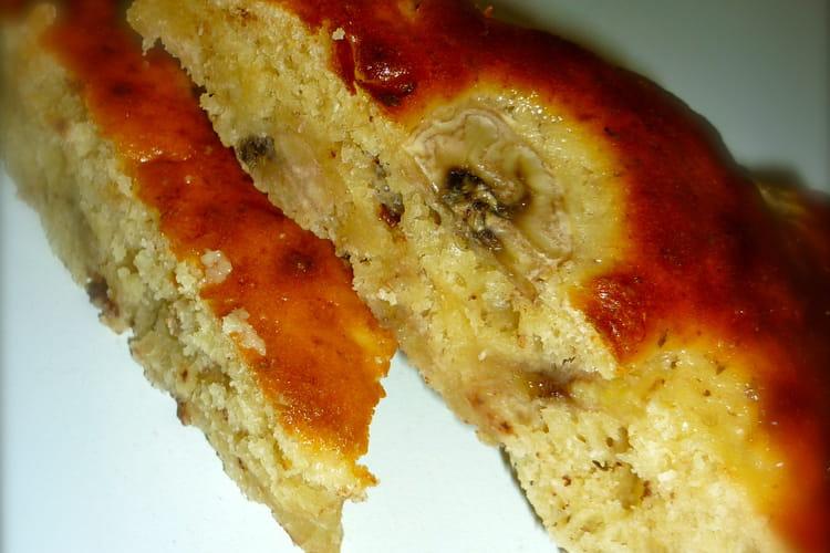 Gâteau banane-coco-choco