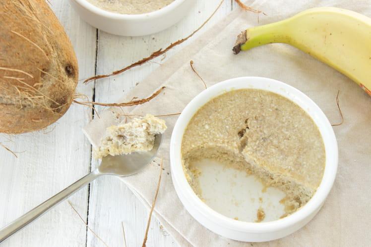 Moelleux banane coco, sans beurre et sans farine