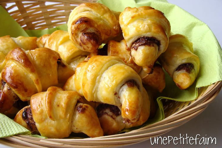 Croissants au nutella