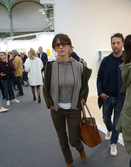 Casual, au vernissage de la Fiac 2016