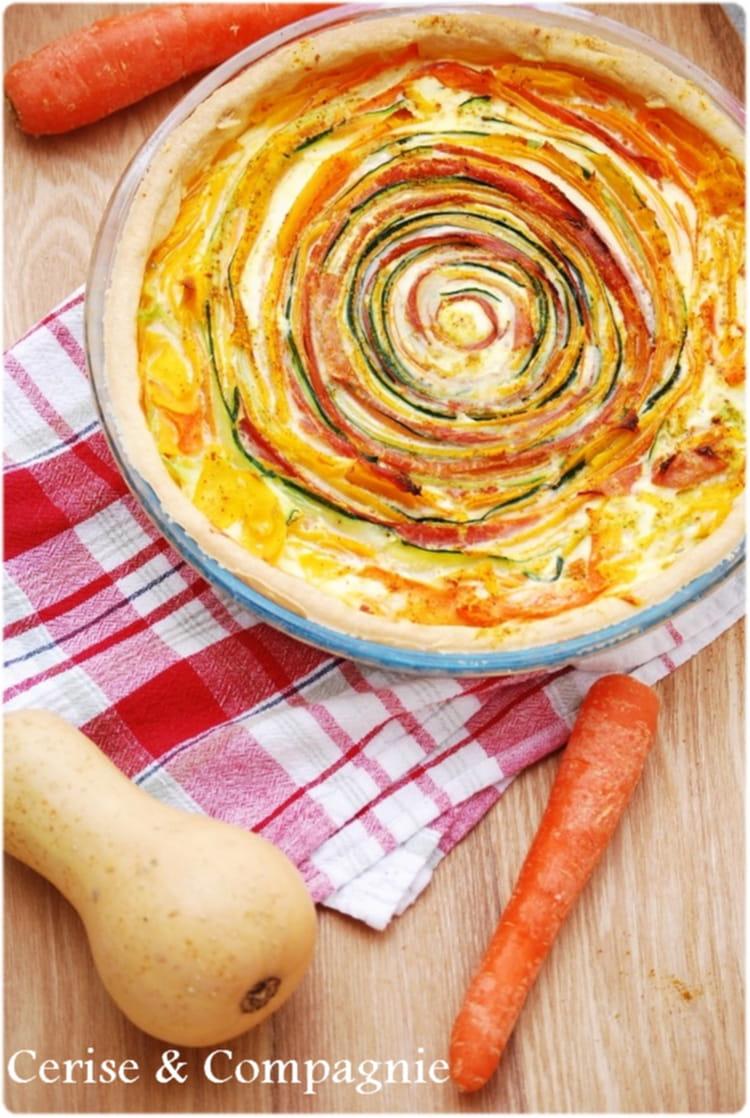 recette de tarte soleil aux légumes la recette