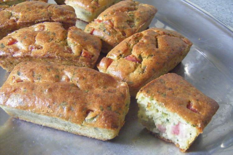 Mini-cakes tomate et parmesan