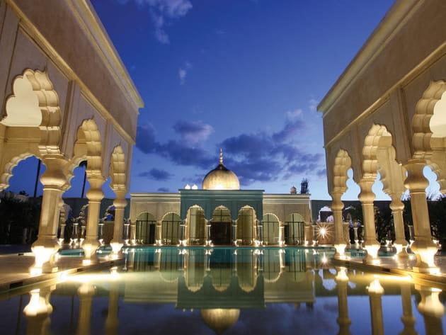 Le Palais Namaskar : un joyau vert à Marrakech