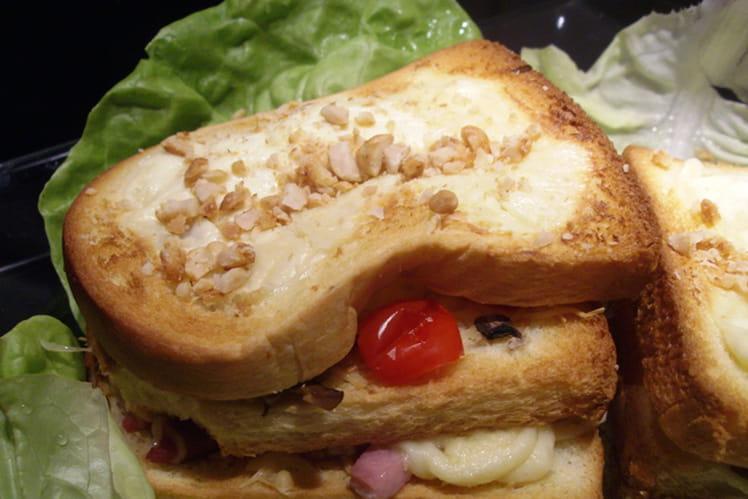 Sandwich chaud réconfort