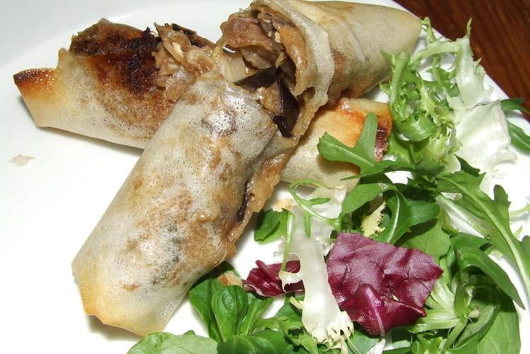 Samoussas aux légumes et feta