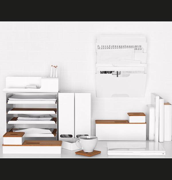 Boîtes de rangement en liège d'IKEA
