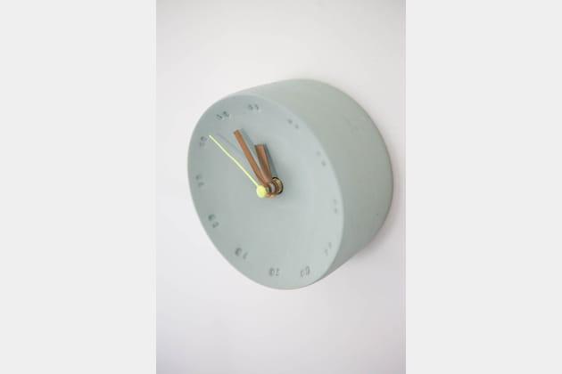 Une mini horloge