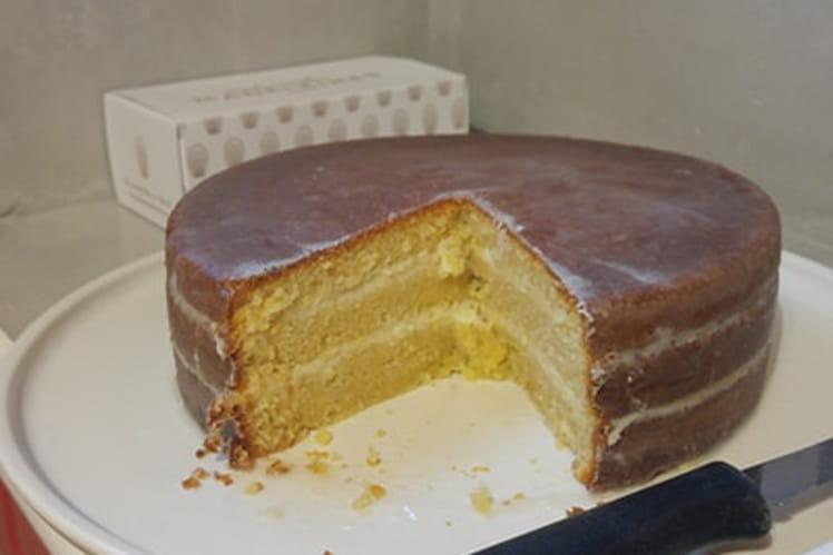 Layer cake au citron et cream cheese