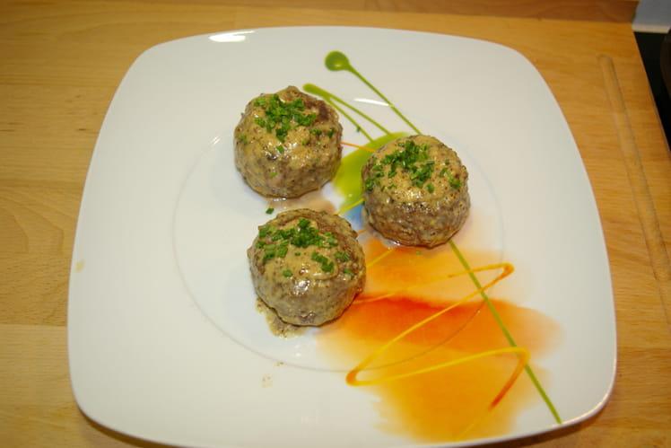 Recette de boulettes de viande hach e aux noix et fromage - Cuisiner viande hachee ...