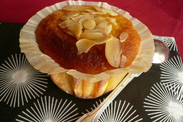 Gâteau fondant orange et amande