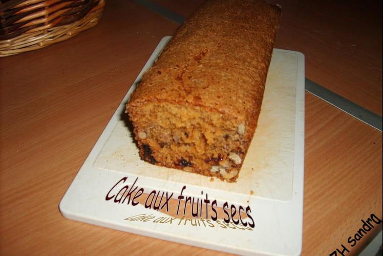 Cake croquant aux fruits secs