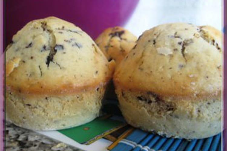 Muffins aux pépites de chocolat inratables