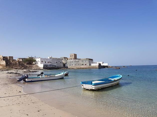 Taqah, ville de pêcheurs