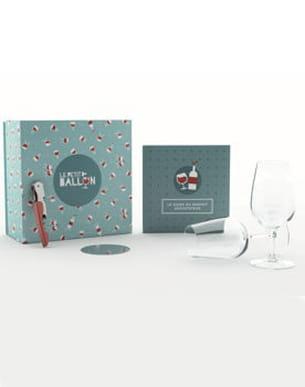box de dégustation de vin du petit ballon