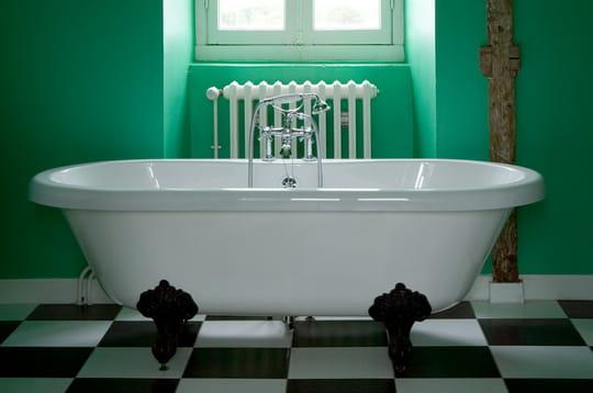 Une salle de bains pour se mettre au vert
