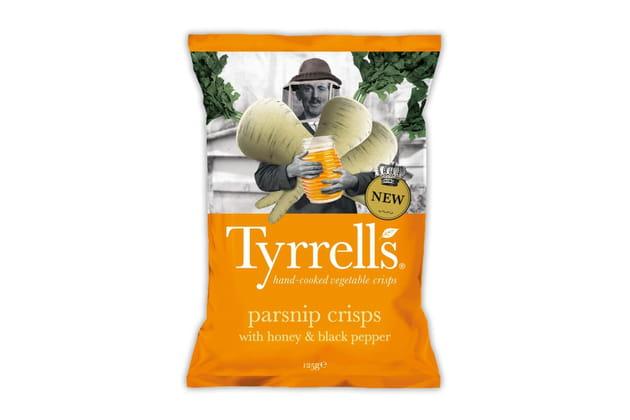 Les chips au panais de Tyrrells