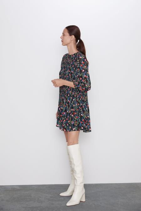 robe-zara-fleurs