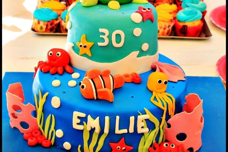Gâteau Némo