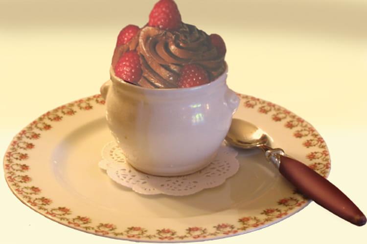 Mousse chocolat / framboise