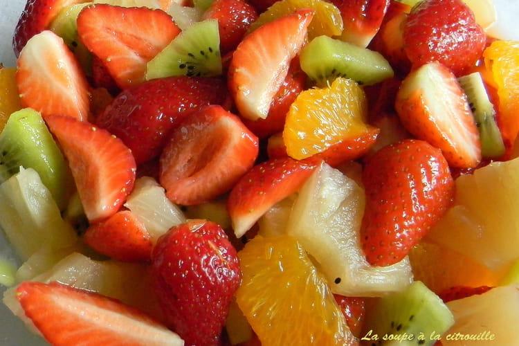 Salade de fruits express