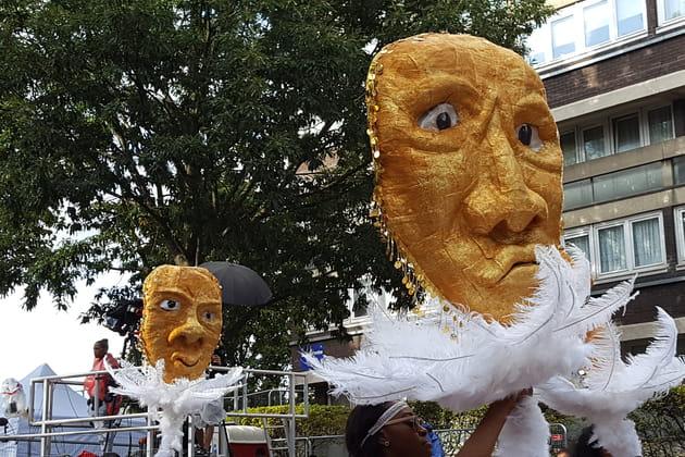 Défilé de masques