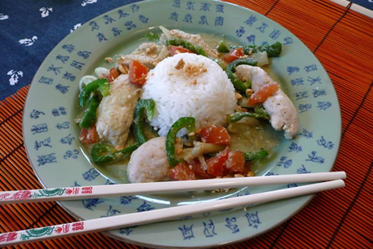 Recette de poulet au curry vert la recette facile - Cuisine thai poulet curry vert ...