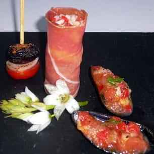 tapas pour un gazpacho alvalle